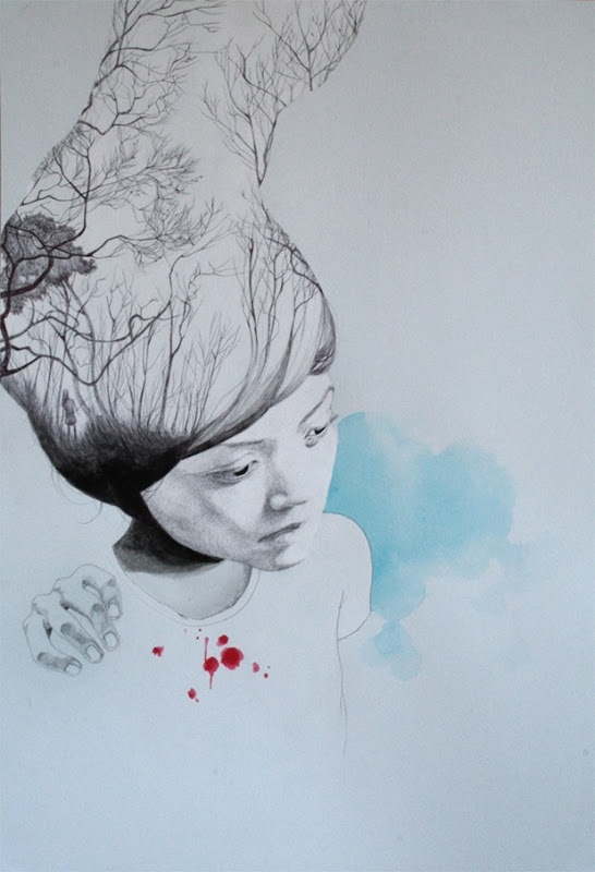 Illustrations and on Paper and Wood by Antonella Montes (aka Lantomo): antonella montes a.k.a. lantomo 1[5].jpg